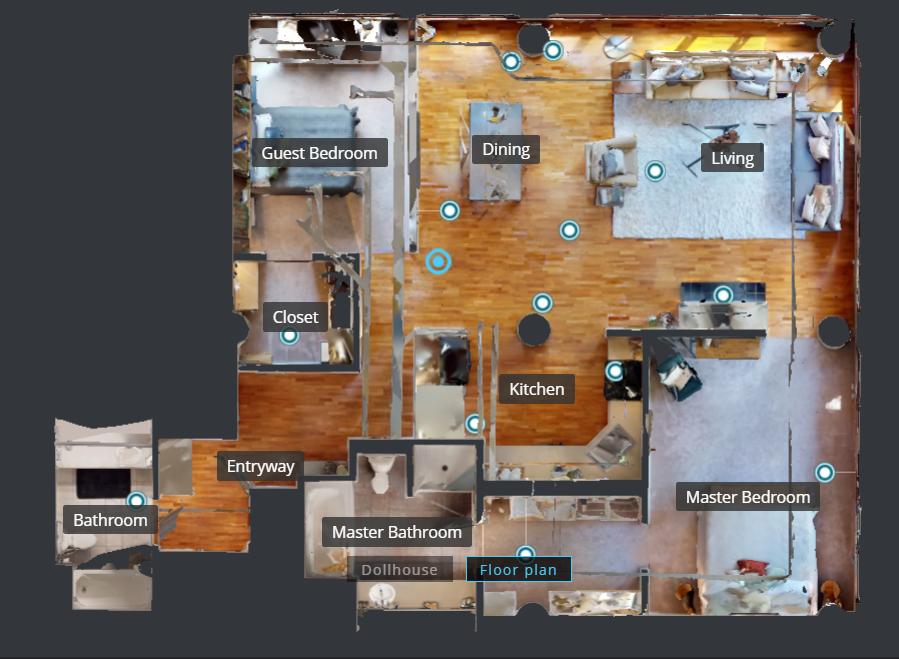 Reconstrucción 3D y de planos completos a partir de fotografías reales -