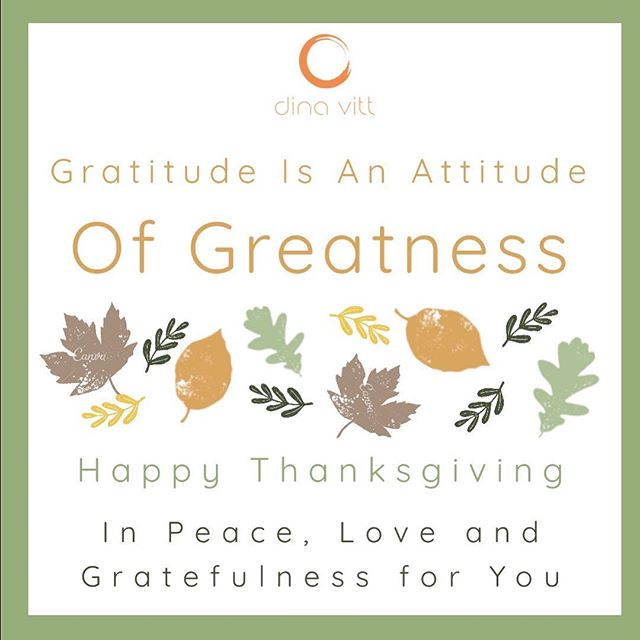 Happy Thanksgiving to all. May this day be filled with love, and gratitude 🦃