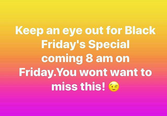 #blackfriday #dinavitt #holidayspecials #besttimeoftheyear