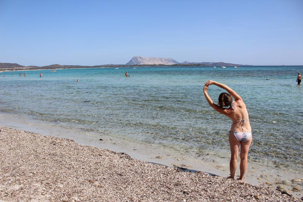 yoga beach ocean sardinia italy.JPG