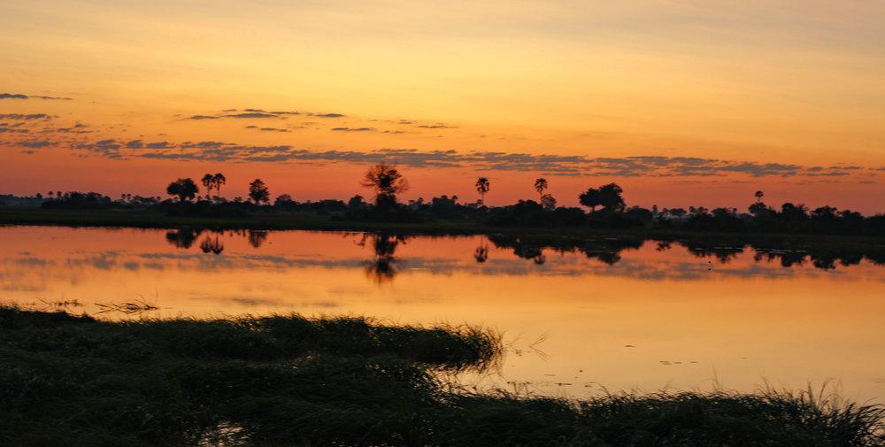 sunrise abu camp okavango delta botswana (1 of 1).jpg