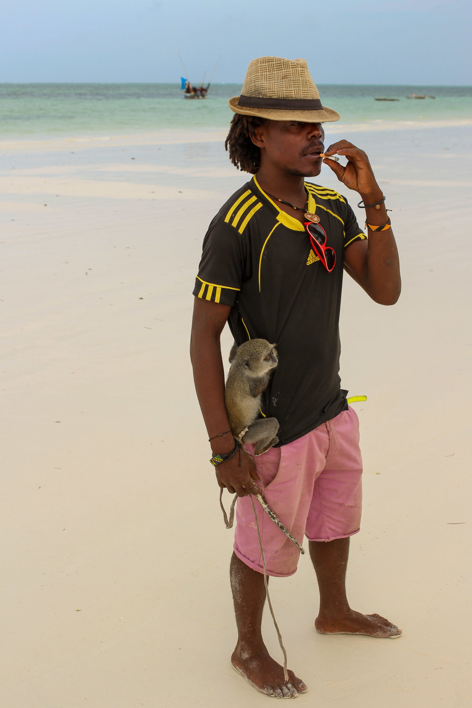 guy with monkey zanzibar (1 of 1).jpg