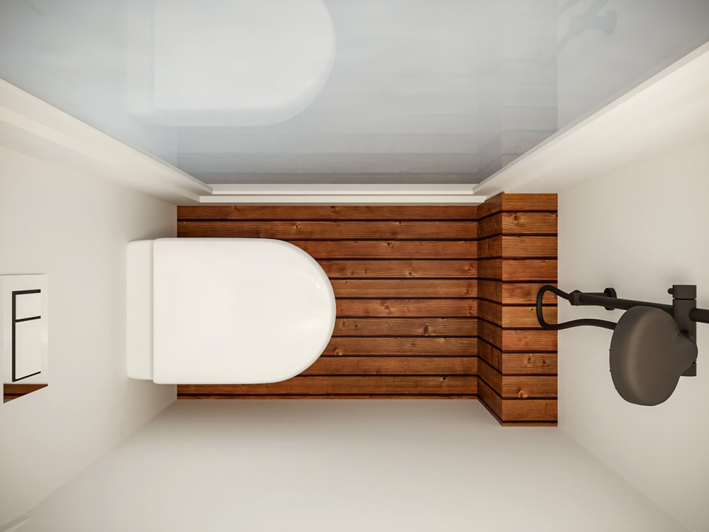 This unique campervan features a built in, hot shower and composting toilet. You'll be clean and warm at the end of a long day of adventuring, wherever you choose to stay.