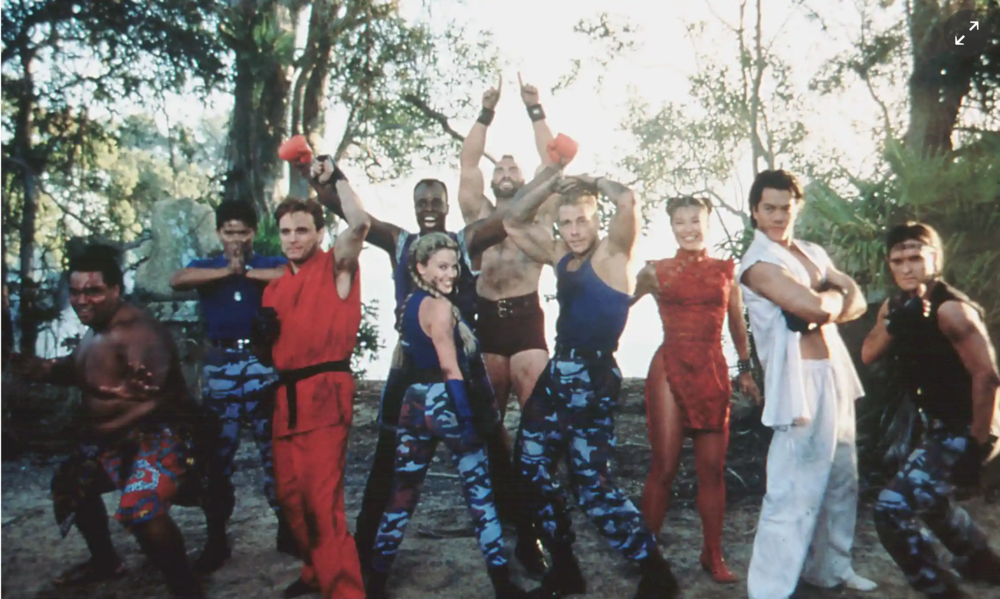 Inside the Street Fighter movie
