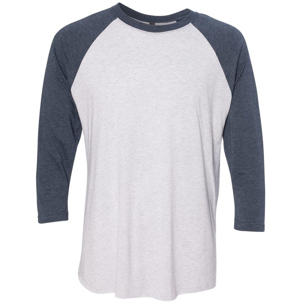 3/4 Sleeve Triblend Raglans (Unisex) - Style #6051