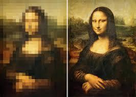low resolution (L) vs. high resolution (R)