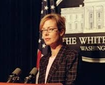 """KERRY - CJ Cregg (""""The West Wing"""") – Although some may argue what an action hero is -- C.J. Cregg is just that -- A bad ass woman who voiced her opinion and stood up for what she believed in. The character of Miss Cregg can be considered one of the OG strong and independent women, one that broke the mold whether you look on TV or the big screen. Who else can perform an epic rendition of the jackel all the while keeping the world at bay and speaking for the executive branch of the United States government?? I'll wait…"""