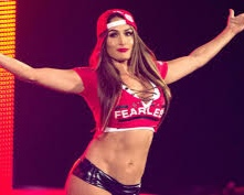 CAITLIN - Nikki Bella (American professional wrestler) – She kicks a** in and out of the ring, has killer abs and runs several businesses with her twin sis!