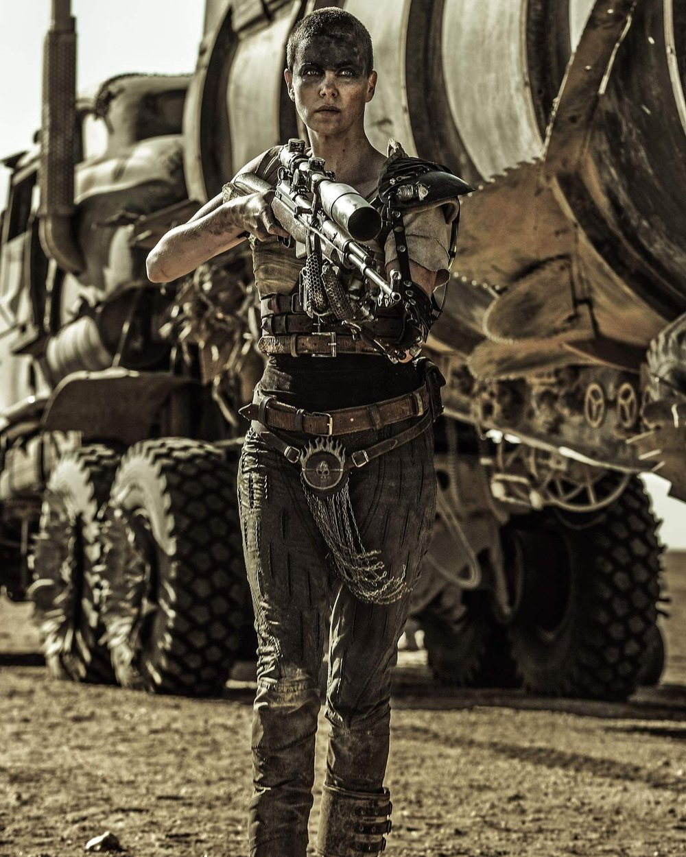 MARIO - Imperator Furiosa (Mad Max: Fury Road) – She's intimidating, respected and just an overall badass character that doesn't take s#*t from anyone and knows how to deal with anything standing in her way. In my opinion, she totally stole the show from Tom Hardy in Mad Max: Fury Road.