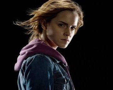 MARIE - Hermione Jean Granger (Harry Potter) – Let's face it, those boys wouldn't have lasted their first week at Hogwarts. She was the brains of the group!