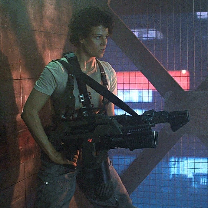 MAC - Ellen Ripley (Aliens) – A life on Earth can be a harrowing experience, much less one in space, even less so when facing an army of lethal Xenomorphs. The sheer willpower that Ripley exudes as she pushes through her fear - using anything and everything at her disposal to not only survive, but to protect those around her - is superhuman. And yet at no moment do you feel that bravery is unearned, frivolous, or disingenuous. Her heart is on her sleeve, and armed with an M41A Pulse Rifle.