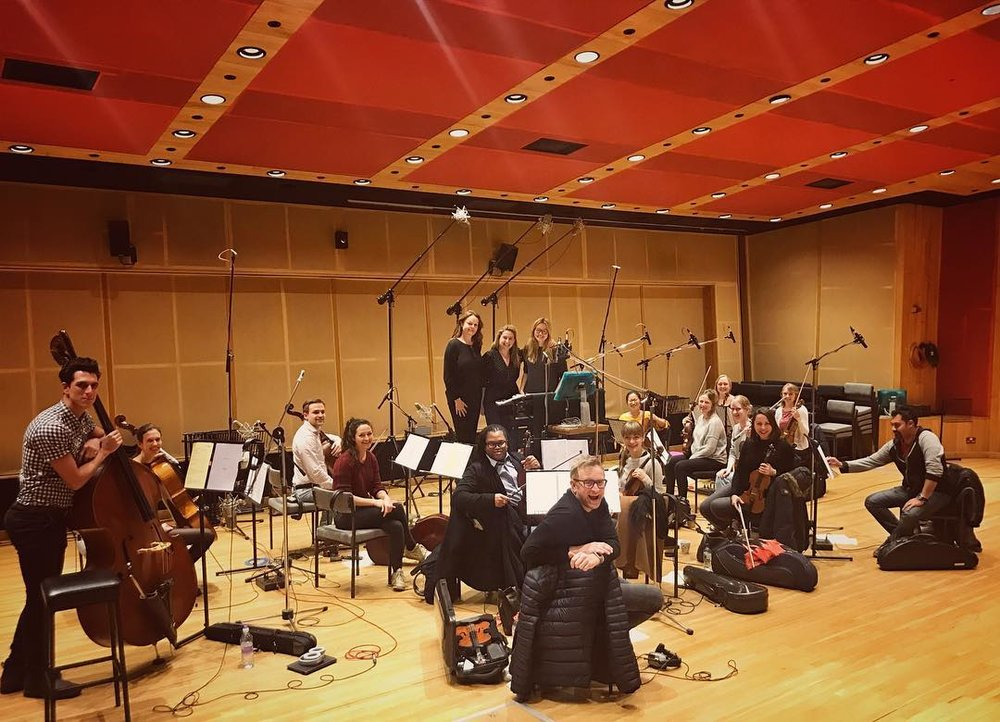 Recording Session at Angel Studios for ITV