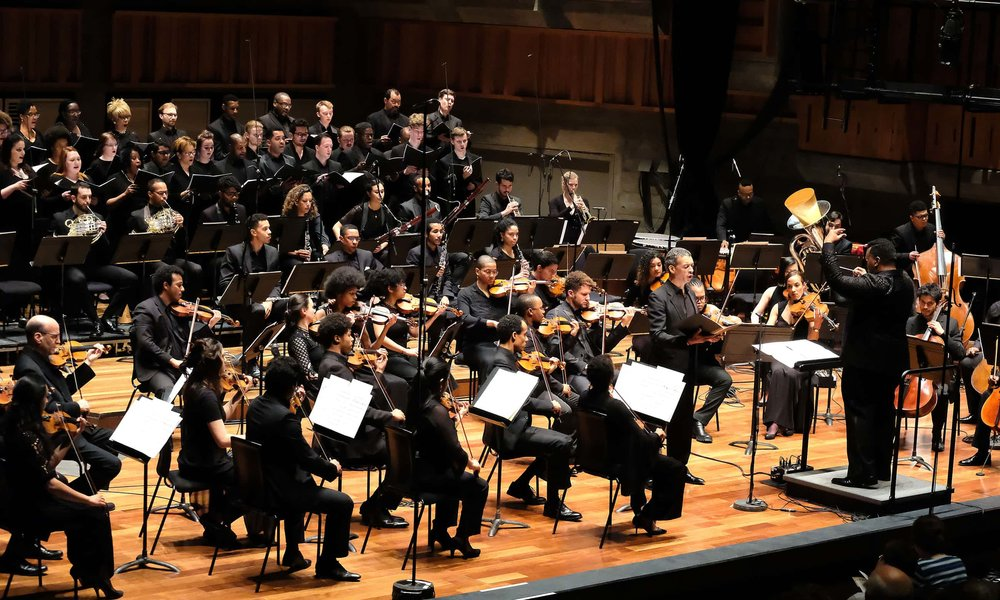 Chineke! Orchestra w/ Roderick Williams OBE @ Queen Elizabeth Hall - Southbank Centre