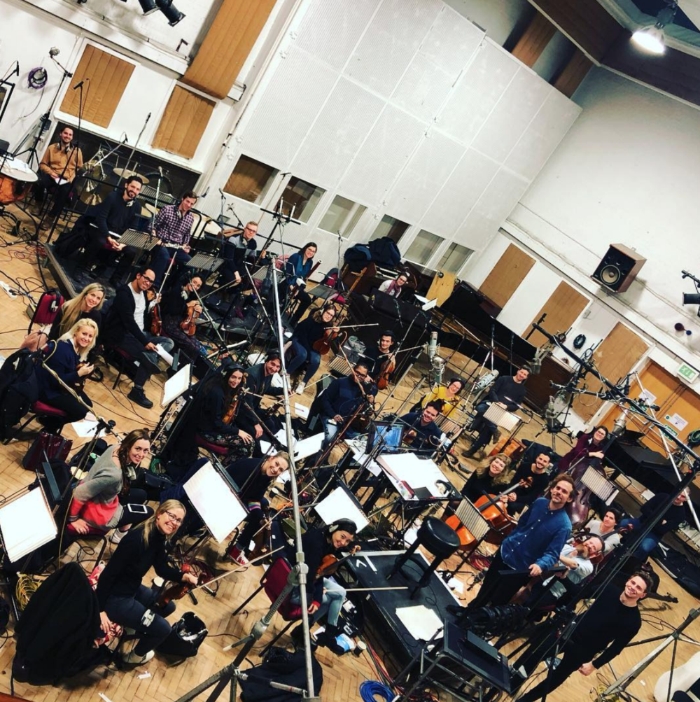 LCO Film Session with Bryce Dessner - The Pope @ Abbey Road Studios