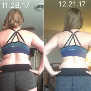 I lost 10 pounds in the first 3 weeks – between Thanksgiving and Christmas!!!