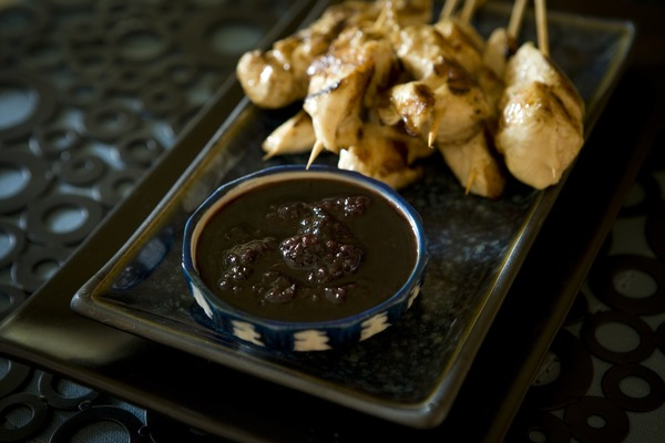 Chicken Sticks with Berriyaki Sauce   Simple and delicious finger food.