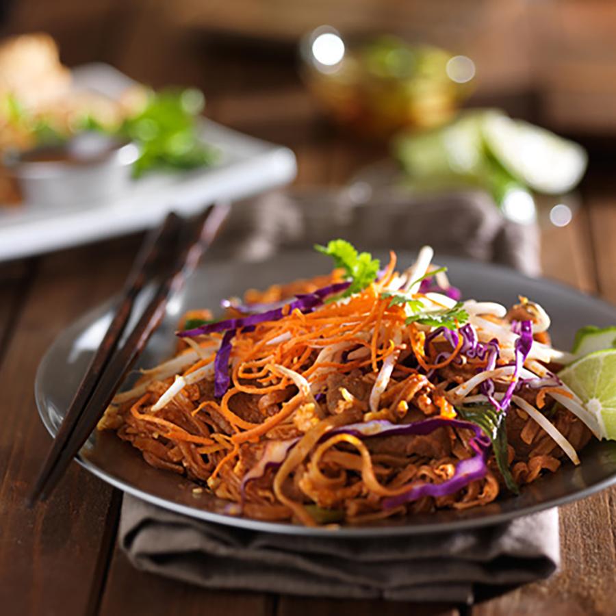 Delightful, Healthy Thai Noodle Salad