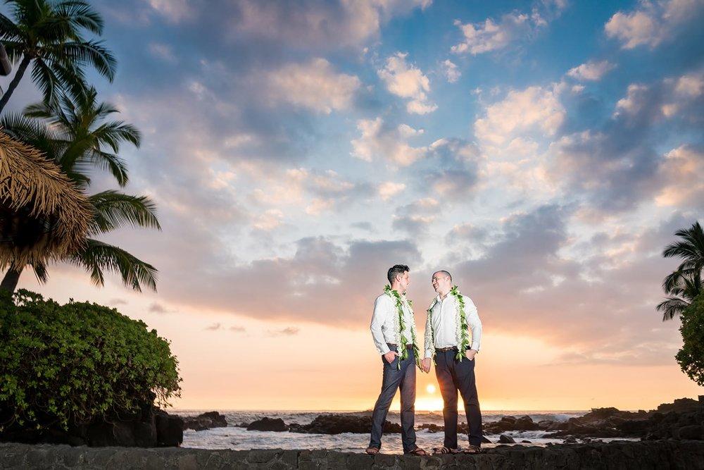 Hawaii-LGBT-Royal-Kona-Resort-Wedding-Photographer-Sunset.jpg