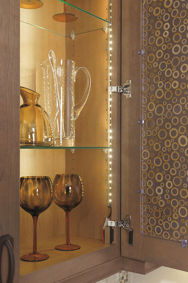 INTERIOR CABINET STRIP LIGHTING