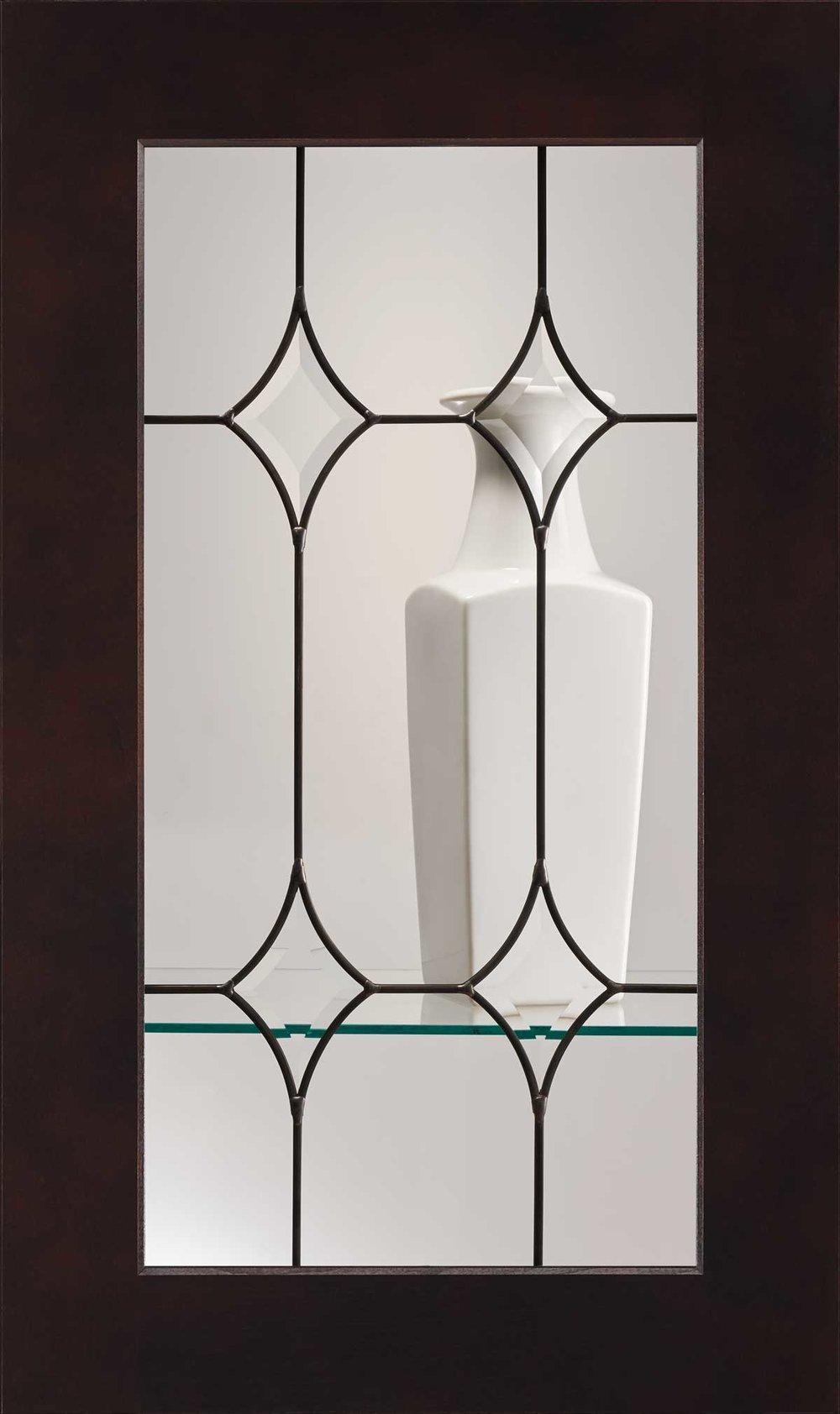 Antique Afton Glass Insert