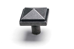 Forged Square Knob
