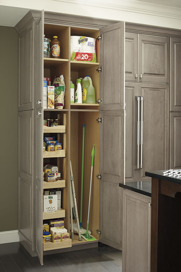 UTILITY CABINET COMBINATION WITH ROLL OUT TRAYS