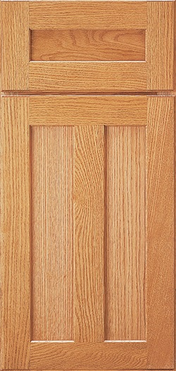 PLYMOUTH Shown in Quartersawn Oak