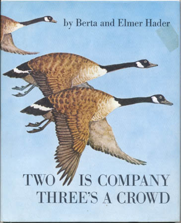 Afterword to the Children's book Two is Company, Three's A Crowd: A Wild Goodse Tale - by Amy Clampitt