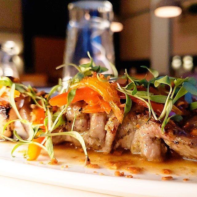 Today's special Moo Bing : Thai style pork skewer, coconut, cilantro, and, fish sauce #teobrooklyn . . . . #skewers #yaki #meatonastick #eats #food #foodporn #bushwick #bushwickartcollective #brooklyn
