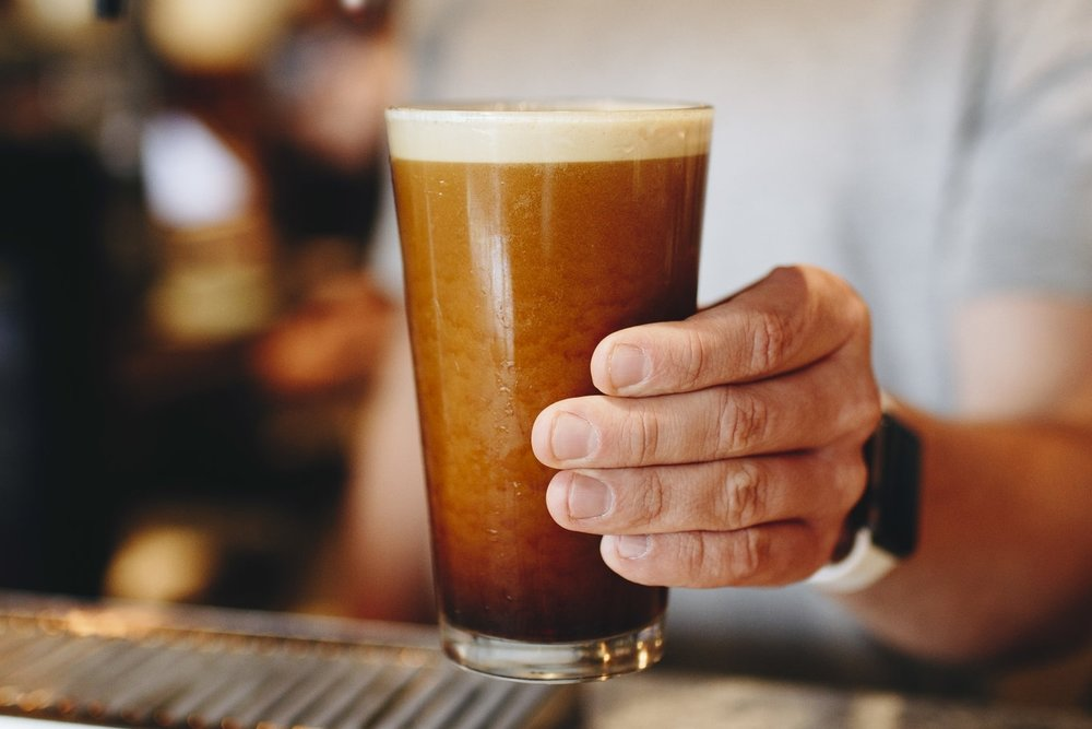Nitro-Infused Cold Brew -