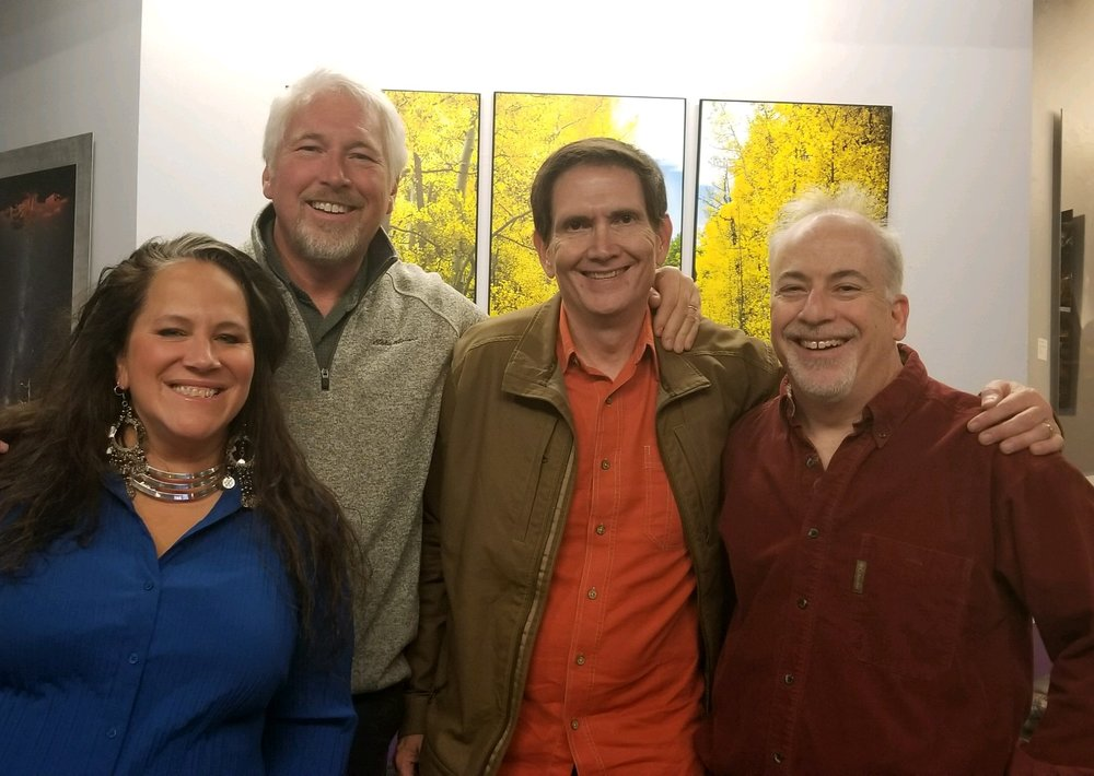 Artists with Curator - November Art Reception 2018