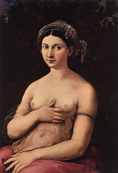 La fornarina, Raphael