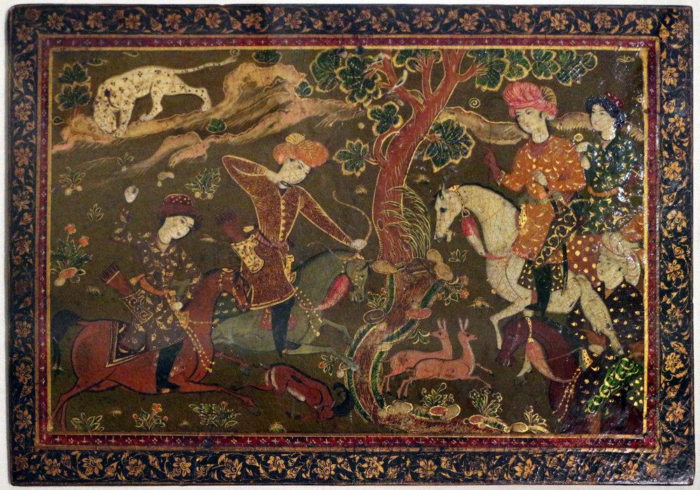 Pannelli da Copertina, Isfahan, 1600-1650