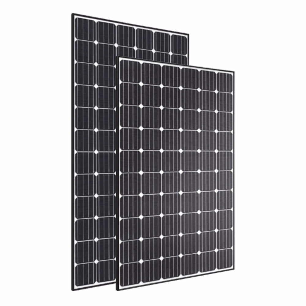 Black Hyundai Solar Panels