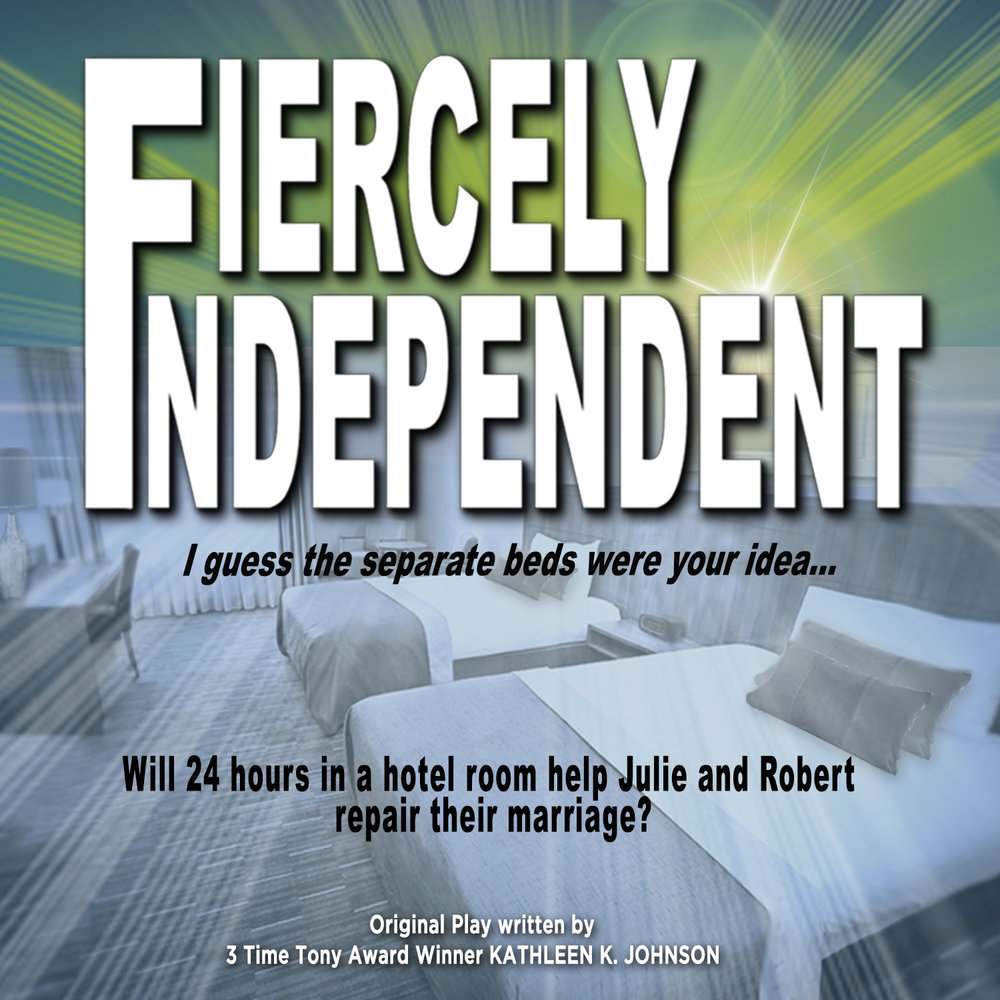 Fiercely Independent - Julie and Robert have been married for 4 years. They are not getting along. They decide to spend 24 hours together in a hotel room with no television, no cellphones, no internet or computers and see if they can work things out.