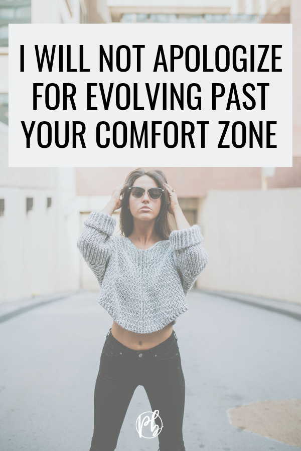 Past Your Comfort Zone