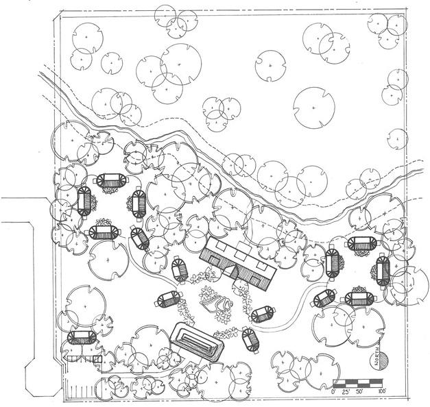 Belize Campus — Overhead Site Plan