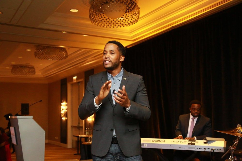 Ashton Clark, MBA, storyteller, motivational speaker, information technology leader, intrapreneur and nationally award-winning entrepreneur Coalesce Awards Host