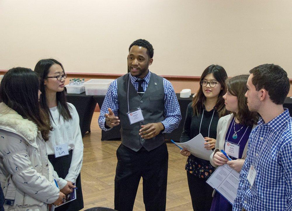 Ashton Clark, MBA, storyteller, motivational speaker, information technology leader, intrapreneur and nationally award-winning entrepreneur at the University of Illinois at Urbana-Champaign