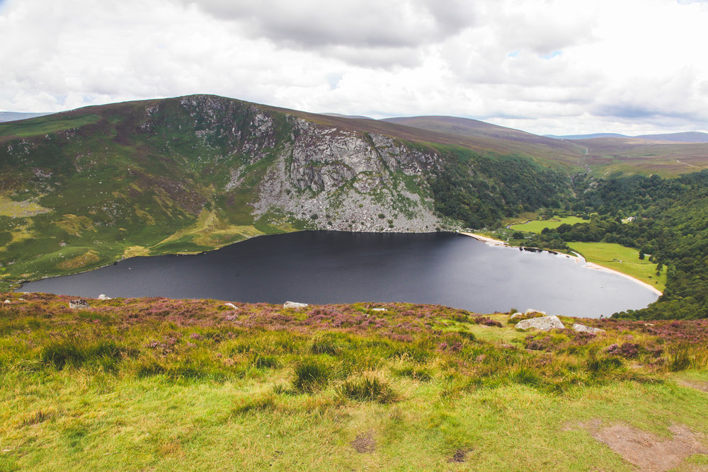 """Lough Tay (""""The Guinness Lake"""")"""