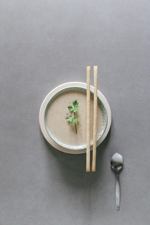 Creamy soup | photography & styling by Joske Simmelink