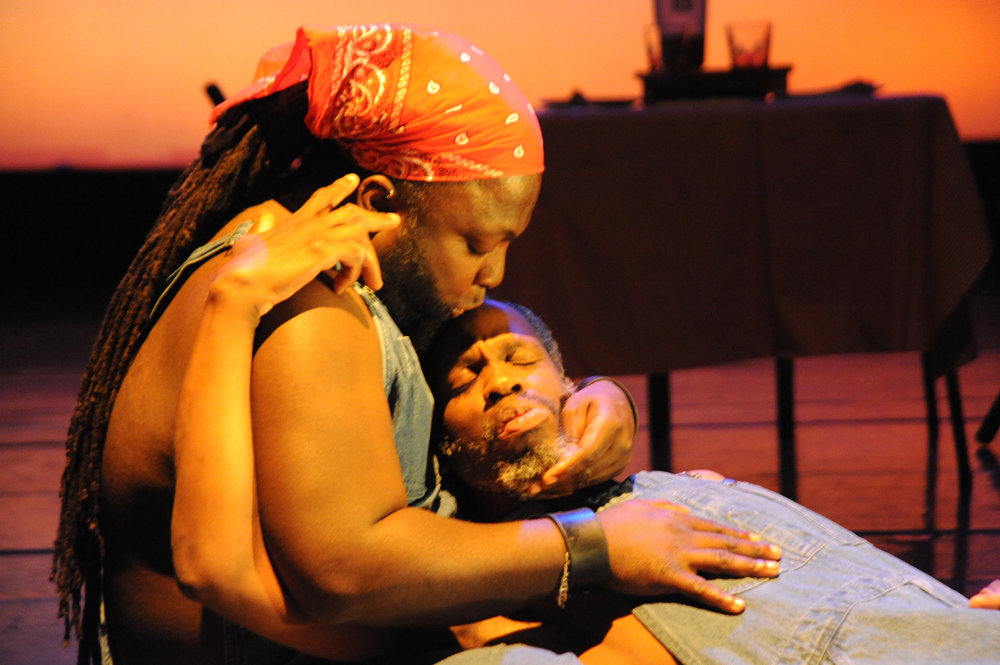 Juba Kalamka & Leroy Moore, ©Richard Downing 2011