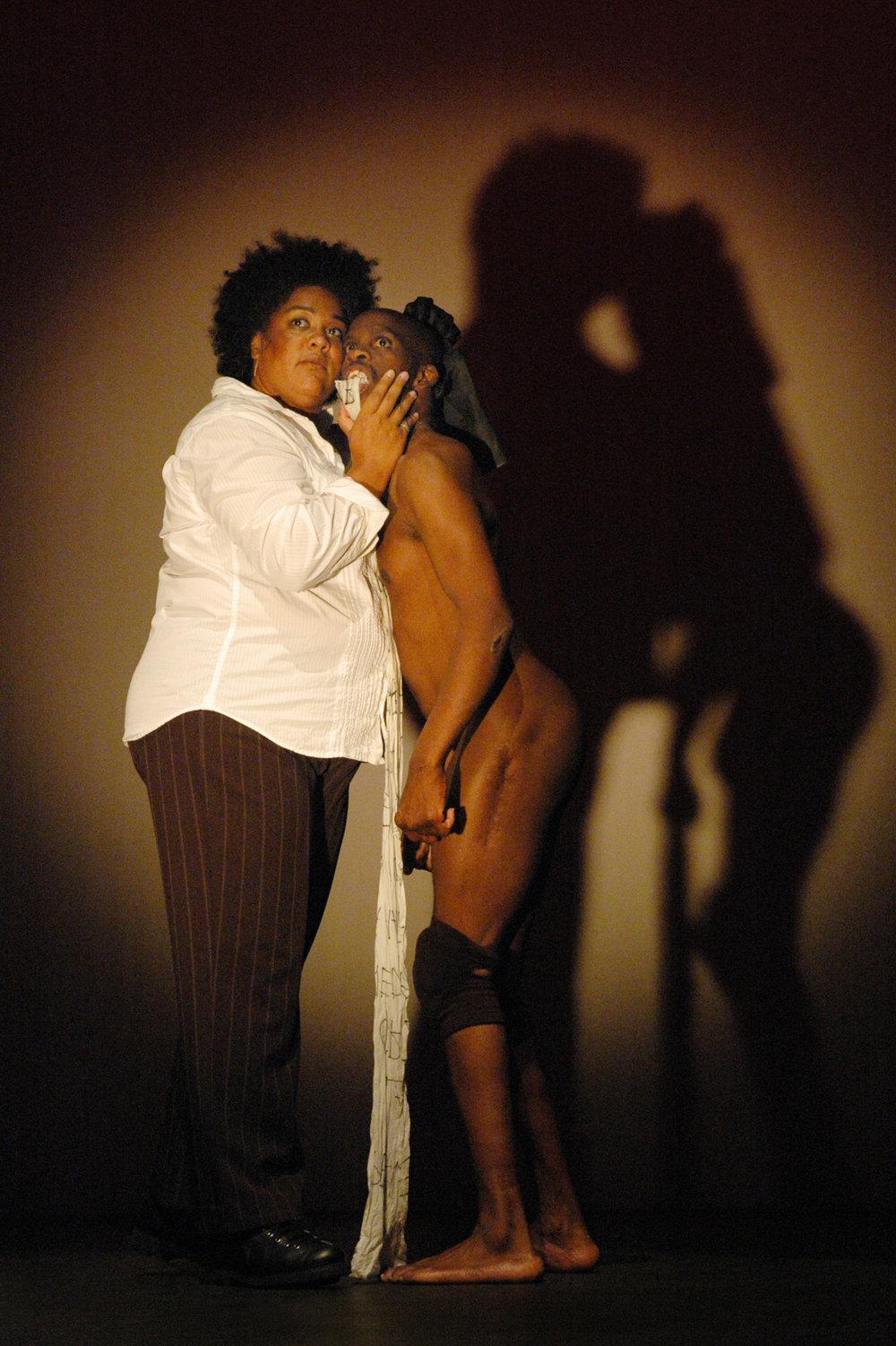 Cara Page & Leroy Moore, ©Richard Downing 2008