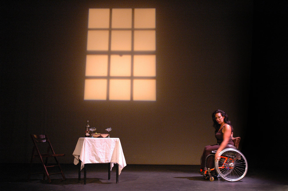 Maria Palacios wideshot, ©Richard Downing, 2008