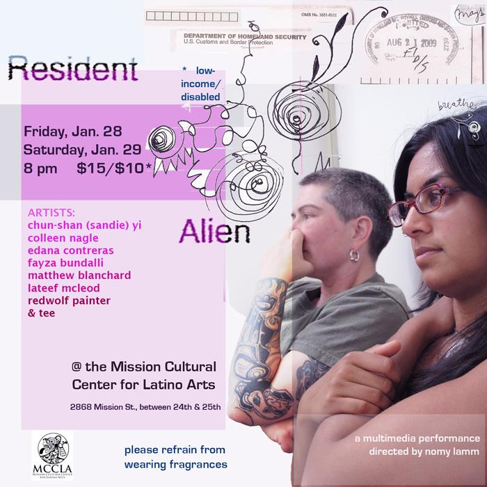 Resident Alien Performance - Sins Invalid