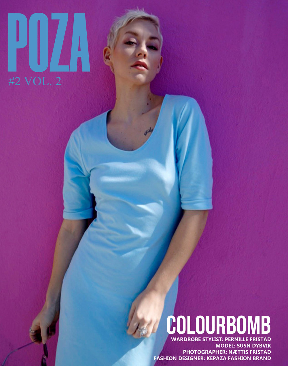 Cover of Poza magazine
