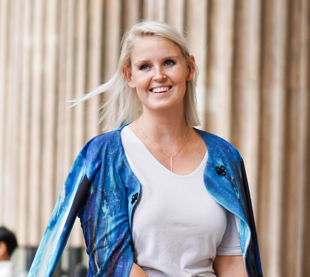 Pernille Fristad in 9to9 Daily