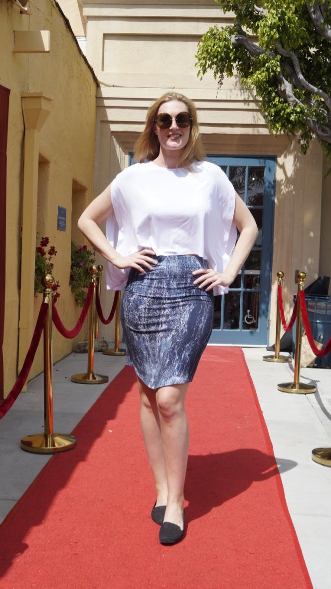 Jannie Gefle at the HIIDA in Hollywood, USA.