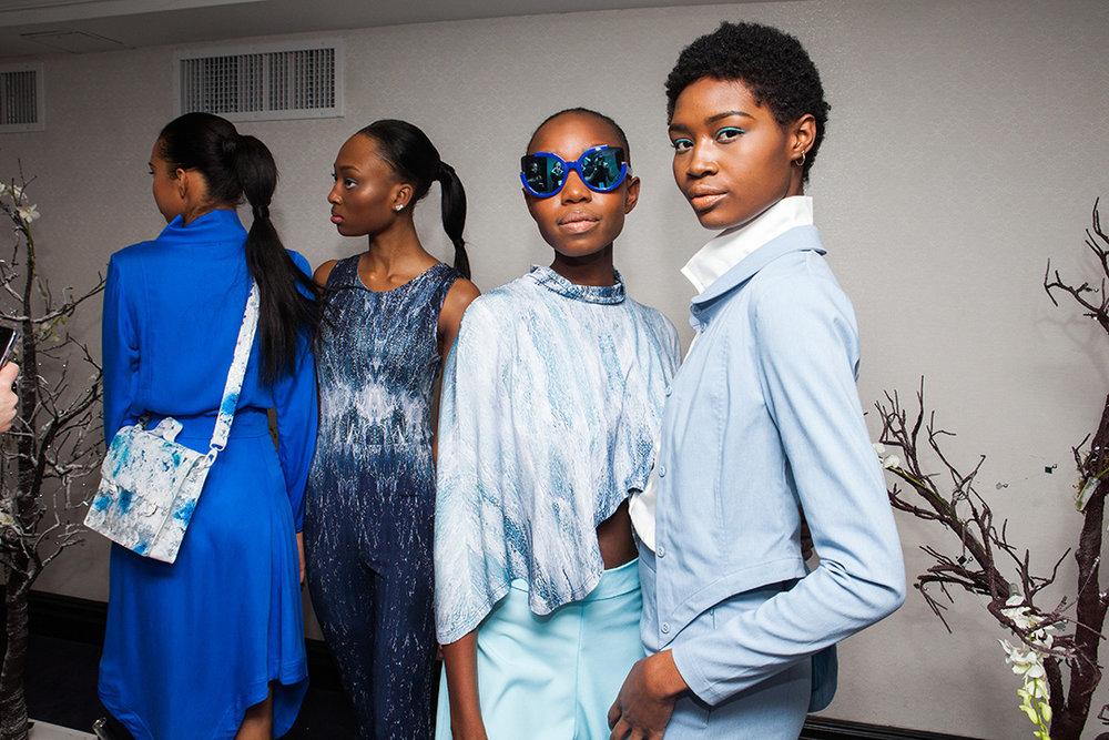 Our models at Kepaza´s New York Fashion Week show.