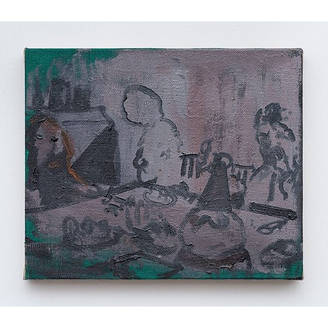 NORMAN HYAMS @norman_hyams Turps Studio Programme 2014-16 | Turps Gallery Artist 2019